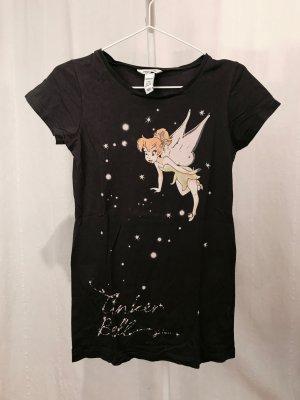 H&M Shirt met print antraciet