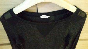 dunkelgraumeliertes Shirt von Naf Naf