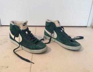 Dunkelgrüne Blazer Sneaker von NIKE in Größe 40,5
