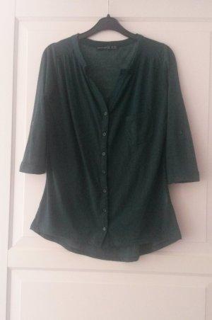 dunkelgrüne Bluse, Größe 34