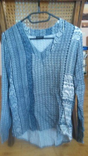 dunkelgrüne Bluse von VILA mit Muster