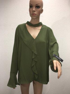 Dunkelgrüne Bluse von Zac & Rachel (Nr. 21)