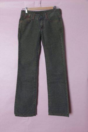 G-Star Pantalon en velours côtelé bleu pétrole-bleu cadet