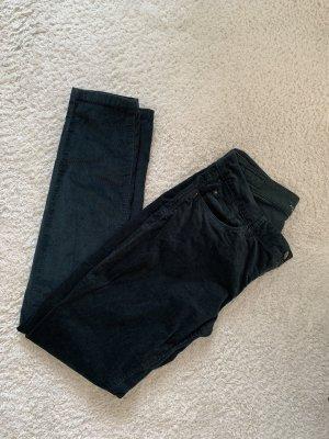 Esprit Pantalón de pana verde oscuro