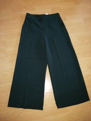 Zara Pantalone culotte verde scuro