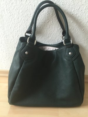 Dunkelgrüne Handtasche, Even & Odd