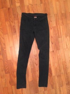 Drainpipe Trousers dark green