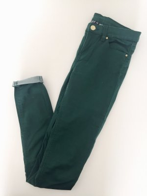 Janina Low-Rise Trousers dark green