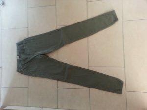 Only Tube jeans groen-grijs-olijfgroen