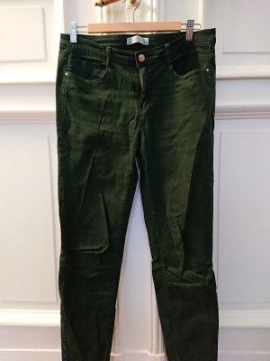 Dunkelgrüne Jeans von Zara