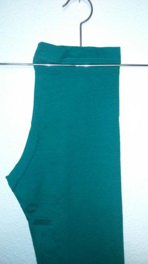 dunkelgrüne Leggings