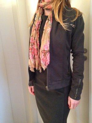 dunkelgrüne leichte Jacke, auch passend zum Etui-Kleid, Mango, Größe 34
