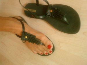 dunkelgrüne Sandaletten 40 Ipanema