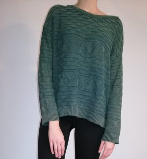Urban Outfitters Pullover all'uncinetto verde bosco Lana