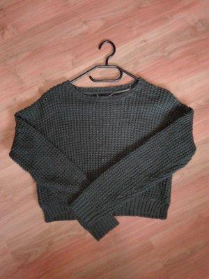 dunkelgrüner Pullover