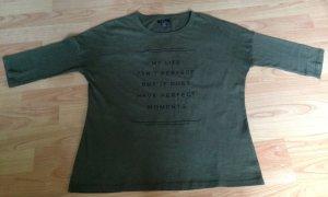 Dunkelgrüner Pullover Größe S Amisu