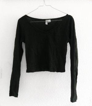 Dunkelgrüner Sweater