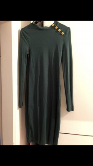 Dunkelgrünes Kleid *Sale*