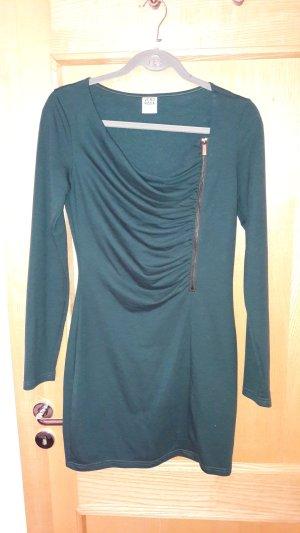 dunkelgrünes Kleid von Vero Moda