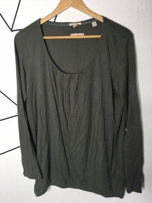 Esprit Carmen shirt donkergroen