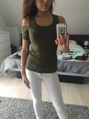 Dunkelgrünes Shirt