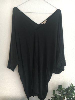 H&M Premium Oversized blouse donkergroen