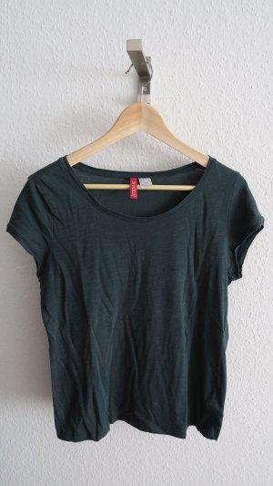 dunkelgrünes T-shirt 36-42