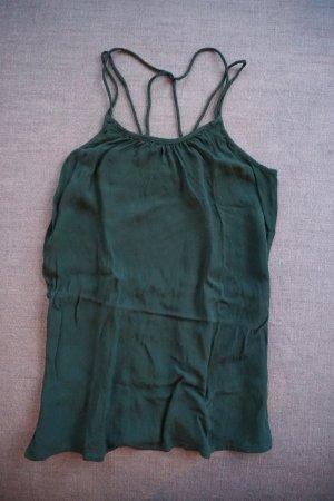 dunkelgrünes Top Vero Moda, Gr. S, toller Rücken, schick