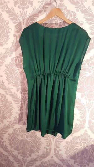 Vila Vestido tipo túnica verde bosque-verde oscuro