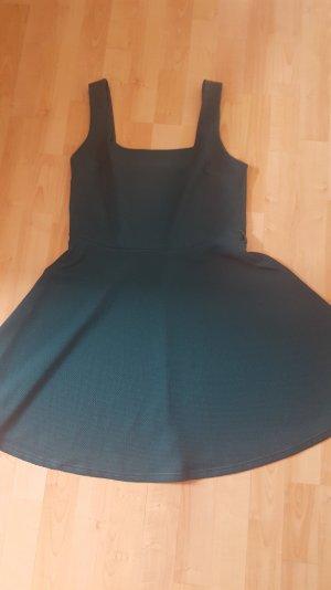 Dunkelgünes vintage Kleid Gr 40