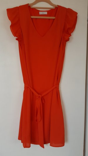 Cache & Cache Robe t-shirt orange fluo polyester