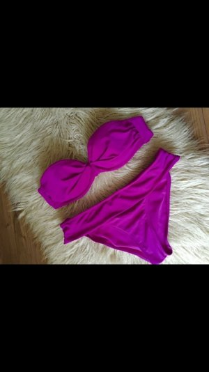 Dunkelpinkes Bikiniset