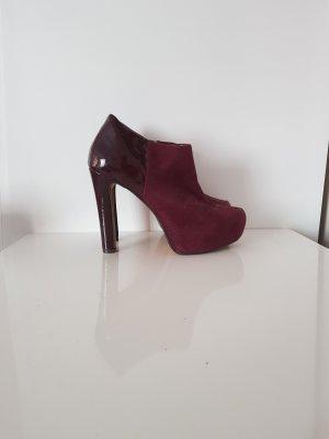 Dunkelrote High heels von Only Pink