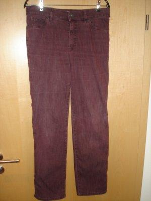Dunkelrote Jeans von Gardeur Gr. 38 Kurzgröße