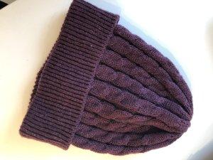 C&A Chapeau en tricot bordeau
