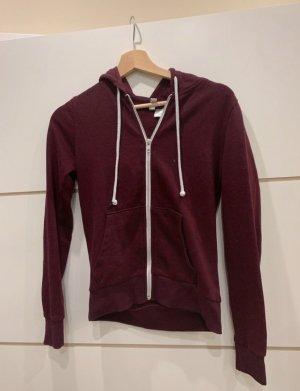 H&M Giacca-camicia carminio-bordeaux