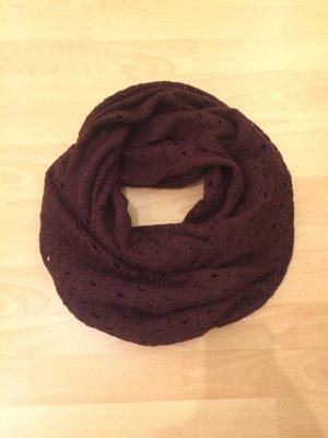 Dunkelroter Loop-Schal von H&M