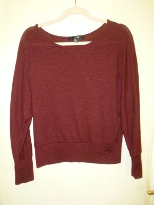 Forever 21 Crewneck Sweater dark red