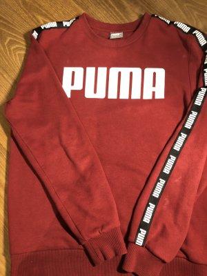 Dunkelroter Puma Pulli