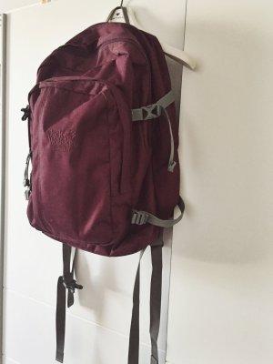 dunkelroter (Schul-)Rucksack