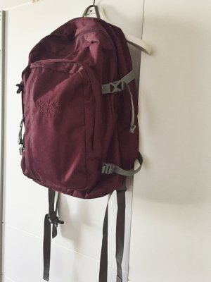 Jack Wolfskin School Backpack carmine-grey polyester