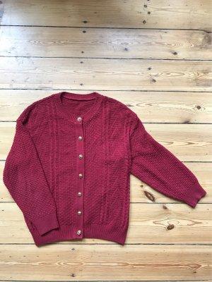 Topshop Sweater bordeaux-gold-colored