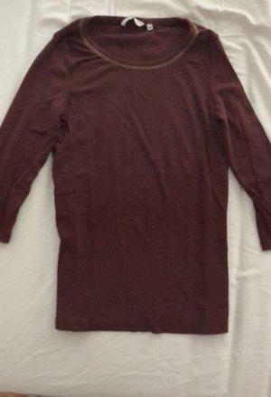 Dunkelrotes Shirt von Tom Tailor