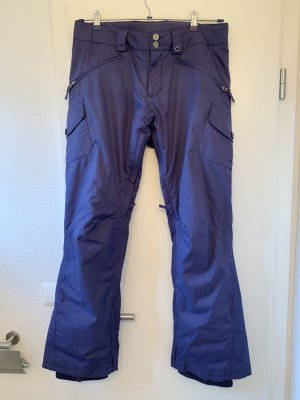 Dunkelviolette Ski-/Snowboardhose von Burton