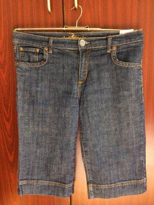 dunkle Jeans, Shorts, 3/4 Länge, Gr. 42