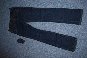 "dunkle Pepe Jeans ""Match"" mit Bindegürtel Gr. W 28 L 32"