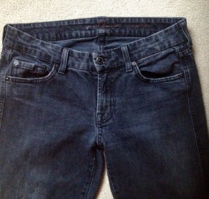 7 For All Mankind Tube Jeans anthracite mixture fibre