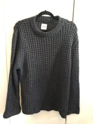 Anine Bing Maglione lavorato a maglia antracite