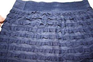 dunkler blauer Minirock