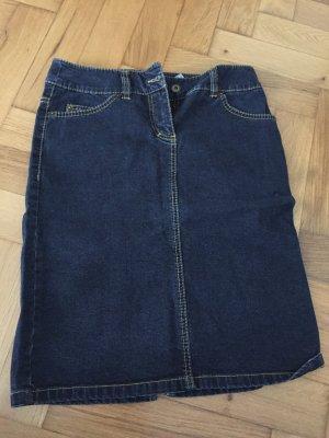 Dunkler Jeans Pencil Skirt in Gr. 36, H&M